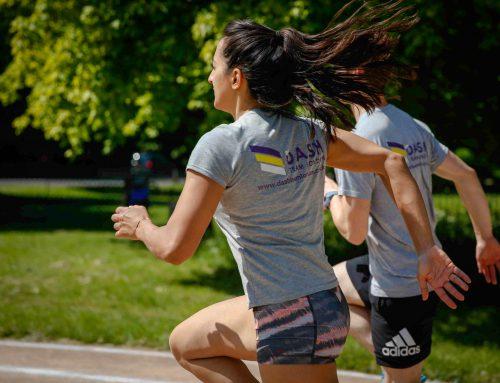 London Marathon Prep – Running Arms