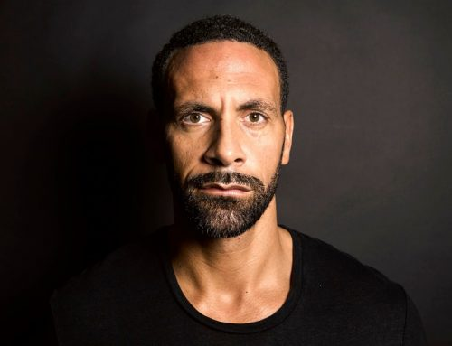 """Sportsmen are painted as these indestructible superheroes…. [and it's OK to be vulnerable]"" Rio Ferdinand"